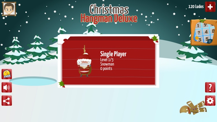 Christmas Hangman Deluxe screenshot-4