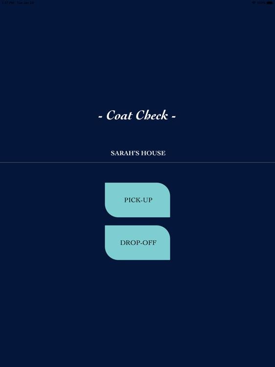Events Coat Check screenshot-7