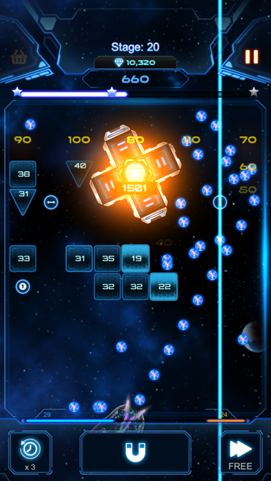 Bricks Breaker Galaxy Shooter screenshot 5