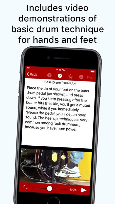 Drum School review screenshots