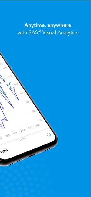 SAS Visual Analytics on the App Store