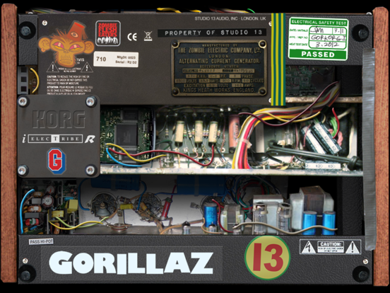 iELECTRIBE Gorillaz Edition screenshot two