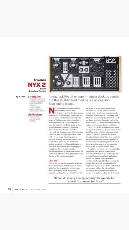 Keyboard Magazine screenshot-8