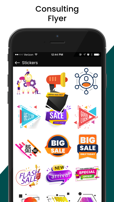 Screenshot for Business Poster Maker in Indonesia App Store