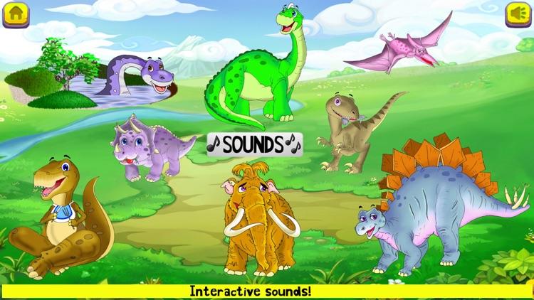 Dinosaur Puzzles Toddler Kids screenshot-4