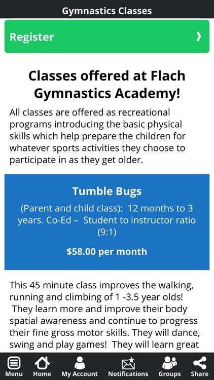 Flach Gymnastics Academy screenshot-3