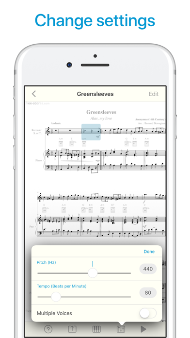 Sheet Music Scanner app image