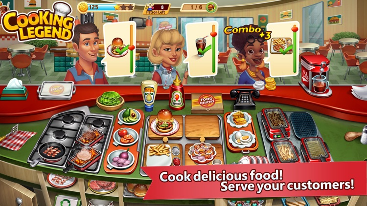 Cooking Legend - Cooking Game screenshot-0