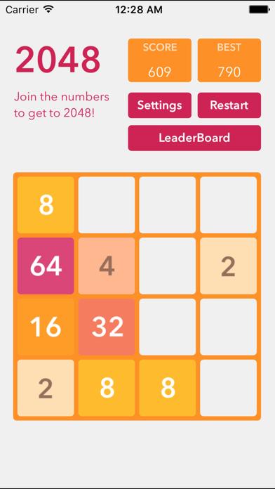 2048 - Best Puzzle Gamesのおすすめ画像3