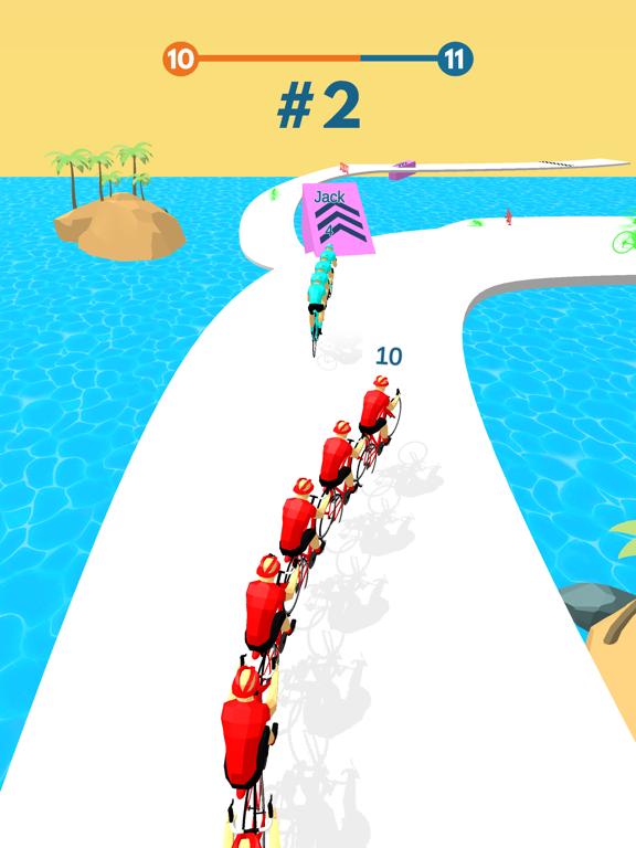 Cycling Stack Race screenshot 8