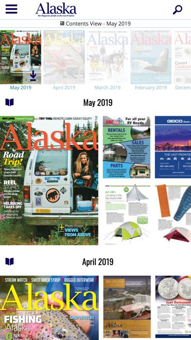 Alaska Magazine Screenshot