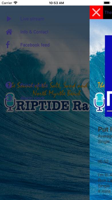 RIPTIDE Radio screenshot two