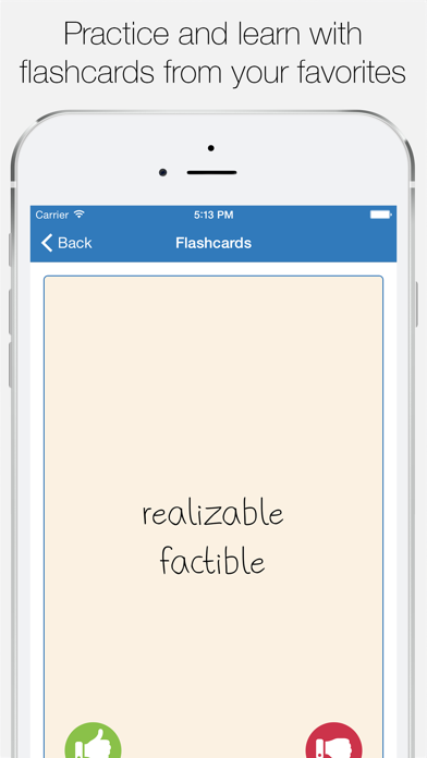 English Spanish Dictionary Screenshots