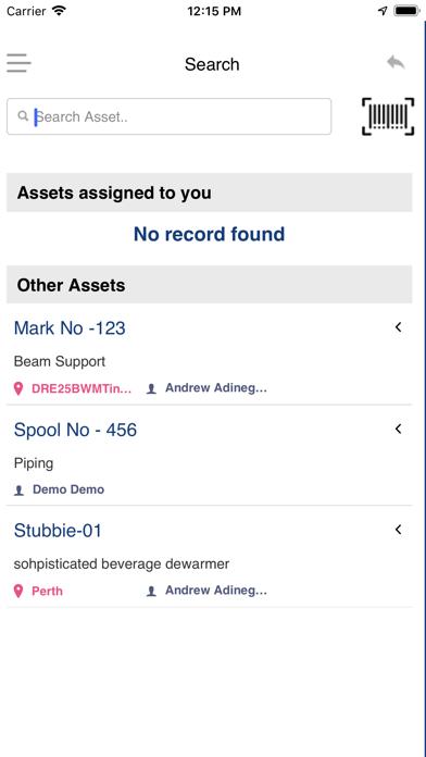 iTrack'em-Track'em Mobile App screenshot four