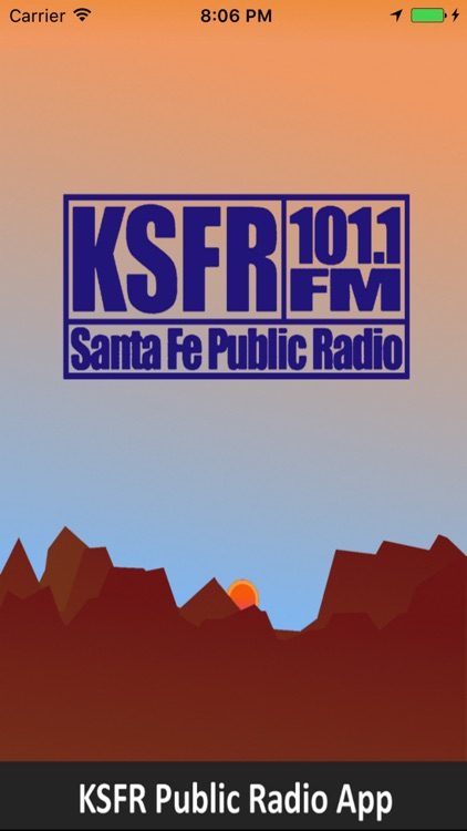 KSFR Public Radio App screenshot-0