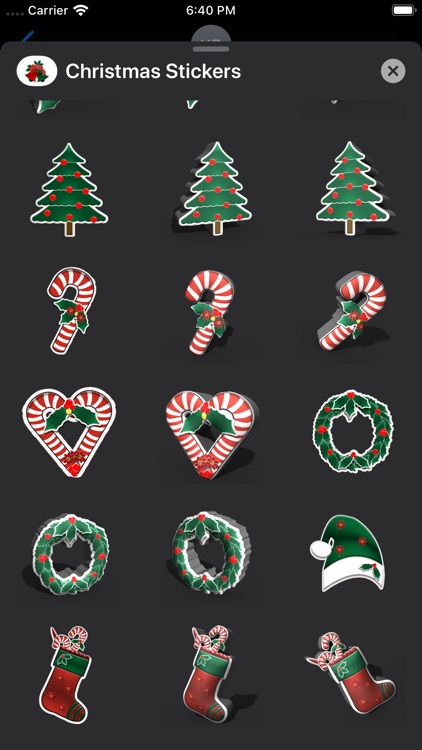 Happy Christmas Stickers screenshot-6