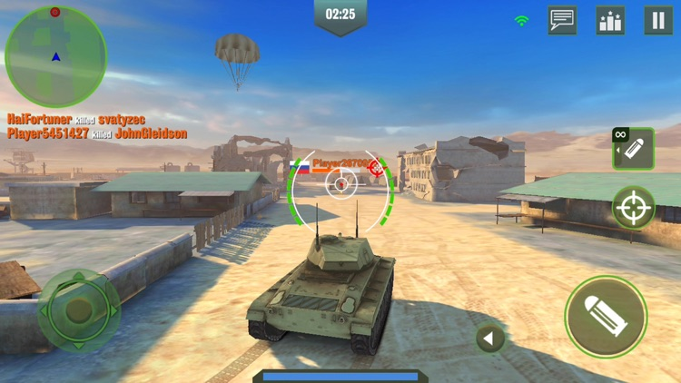 War Machines: Tank Army Games screenshot-4