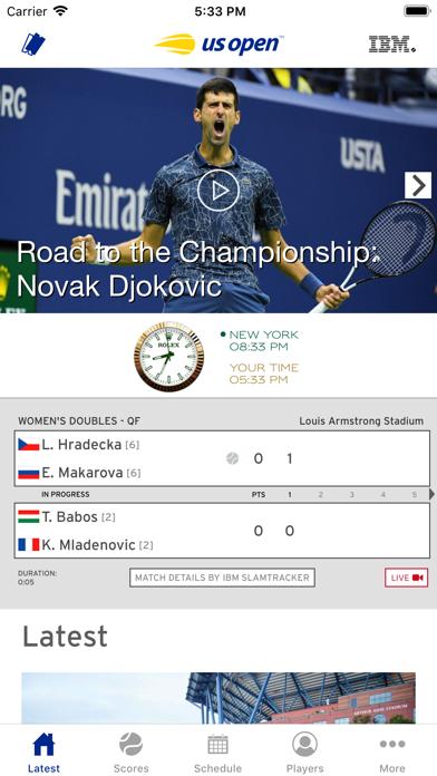 Us Open Tennis Championships review screenshots