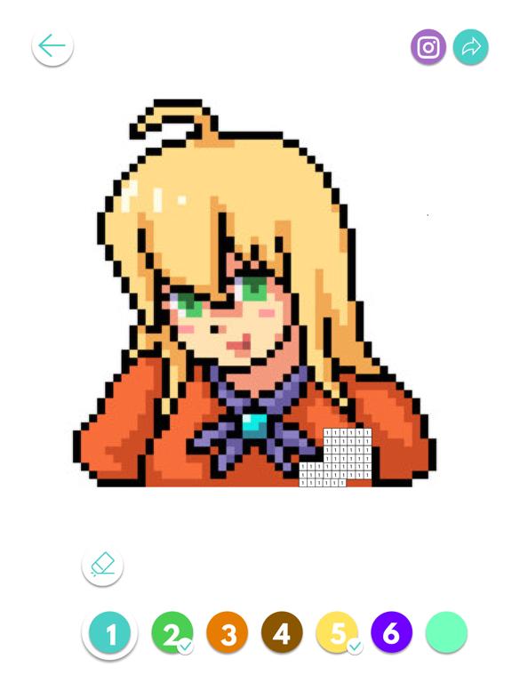 Color Pixel Number screenshot 4