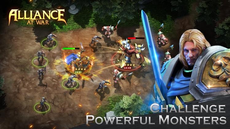 Alliance at war: magic throne screenshot-3