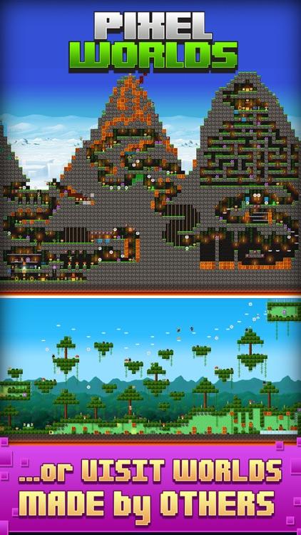 Pixel Worlds: MMO Sandbox screenshot-4