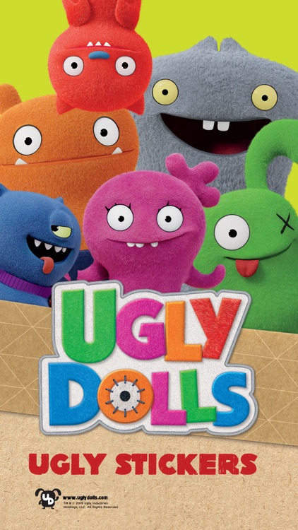 UglyDolls Stickers