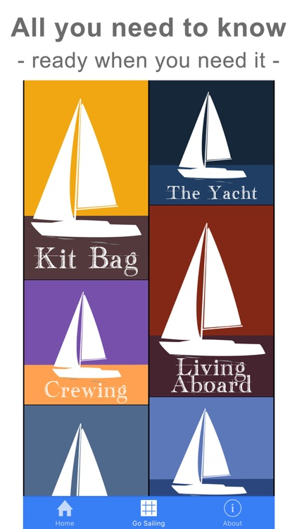 Start Sailing: Yachts