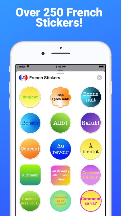 French Stickers for iMessage
