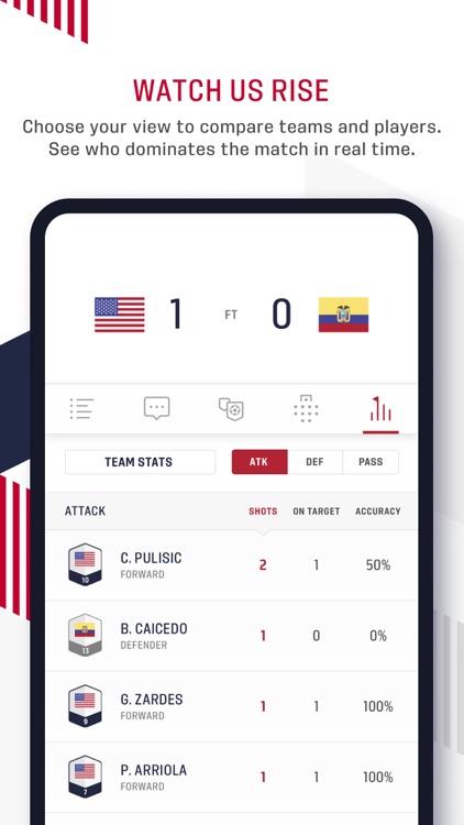 U.S. Soccer – Official App screenshot-4
