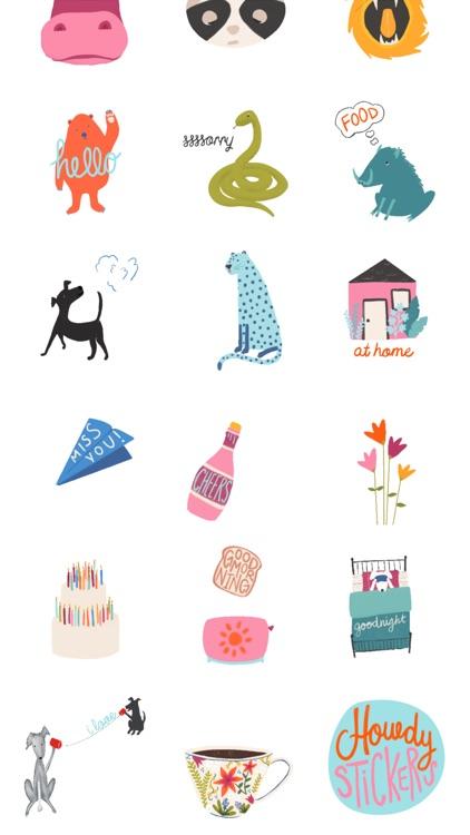 Howdy Stickers screenshot-3