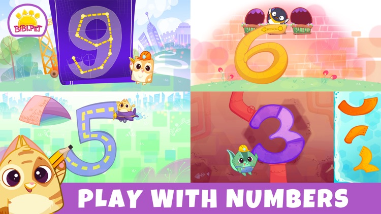 Bibi Numbers 123 - Kids Games screenshot-6