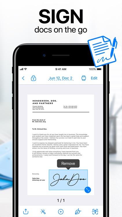 iScanner - PDF Scanner App screenshot-3