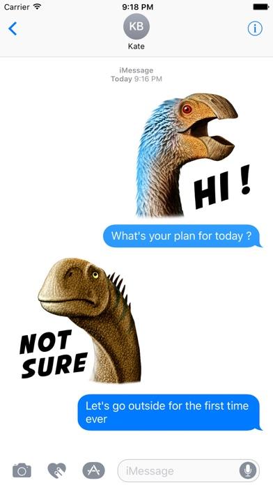 Dinosaurs Sticker Packのおすすめ画像1