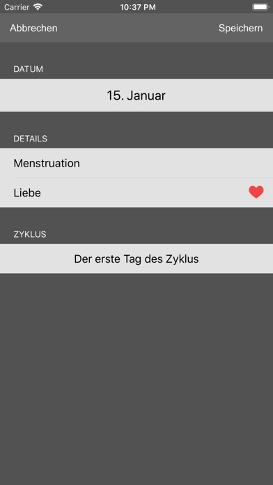 Screenshot for Fruchtbarkeit Kalender in Germany App Store