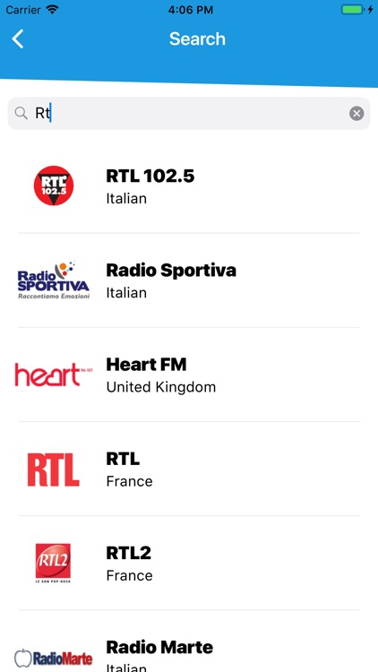 Radio Tuner - radio player fm screenshot-3