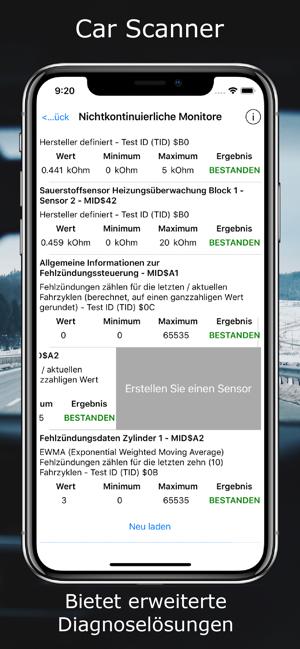 Car Scanner ELM OBD2 Screenshot