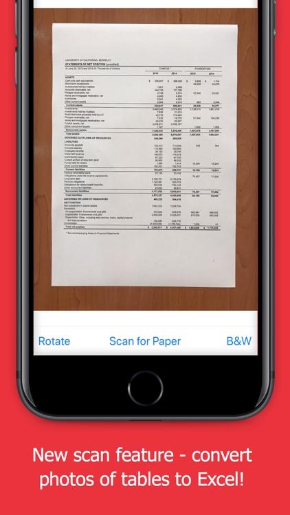 PDF to Excel Converter - OCR