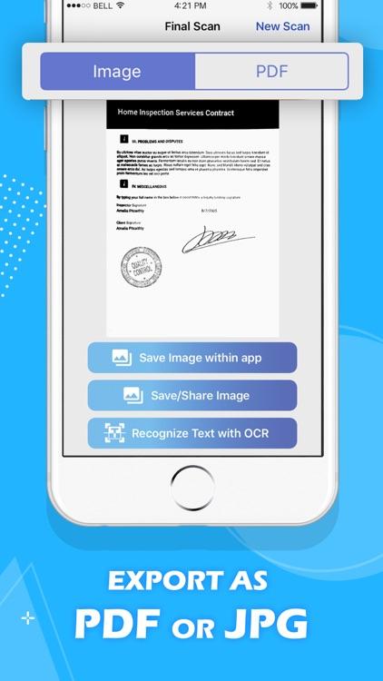 PDF Scanner: Scan to PDF Photo screenshot-4