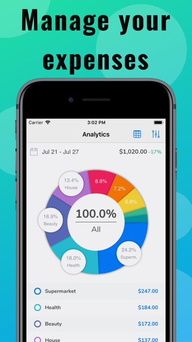 Cash Guard: Finance Tracker screenshot one