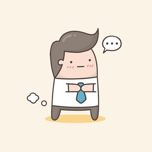 Office Boss Stickers