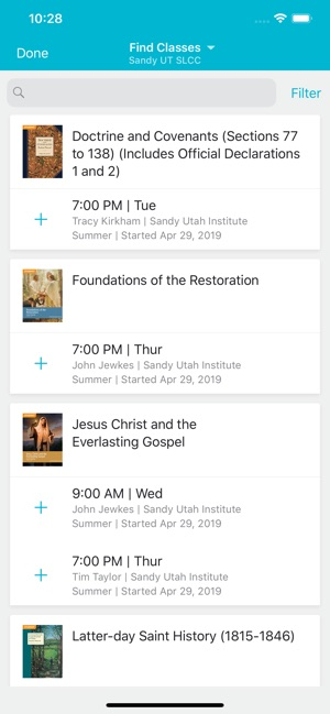 Seminary and Institute on the App Store