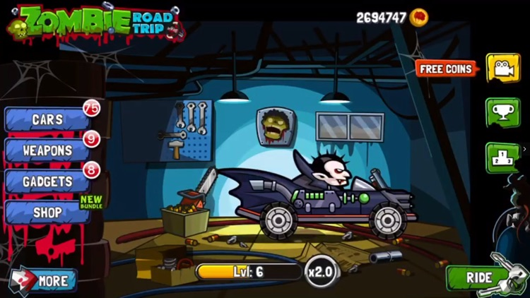 Zombie Road Trip! screenshot-0