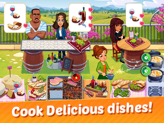 Delicious World - Cooking Game screenshot #2