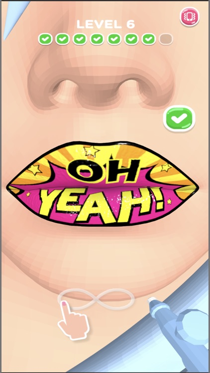 Lip Art 3D screenshot-0