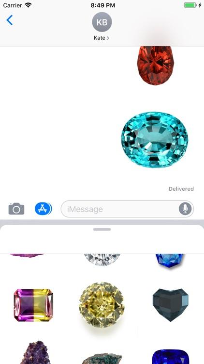 Amazing Gem Stickers screenshot-4