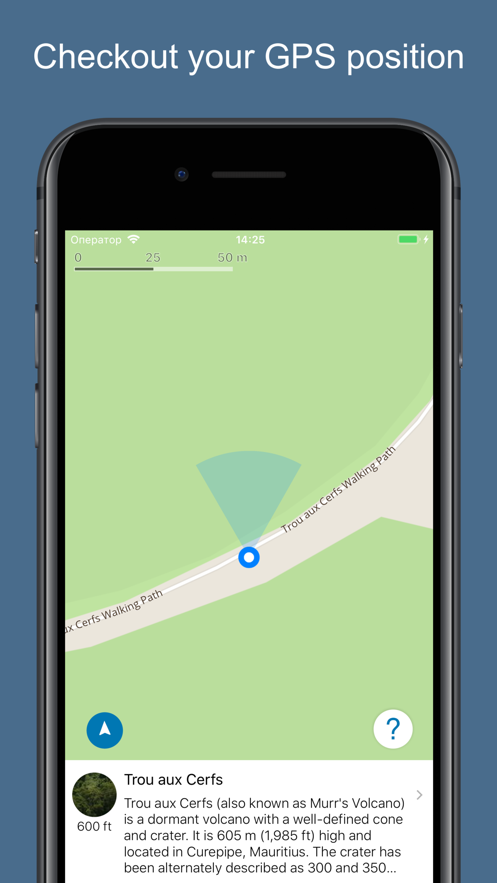 Mauritius 2020 — offline map App 截图