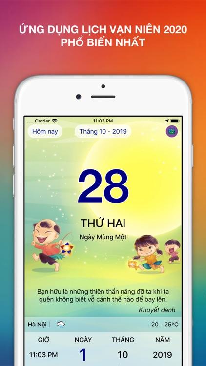Lịch Vạn Niên 2021 - Lịch Việt screenshot-0