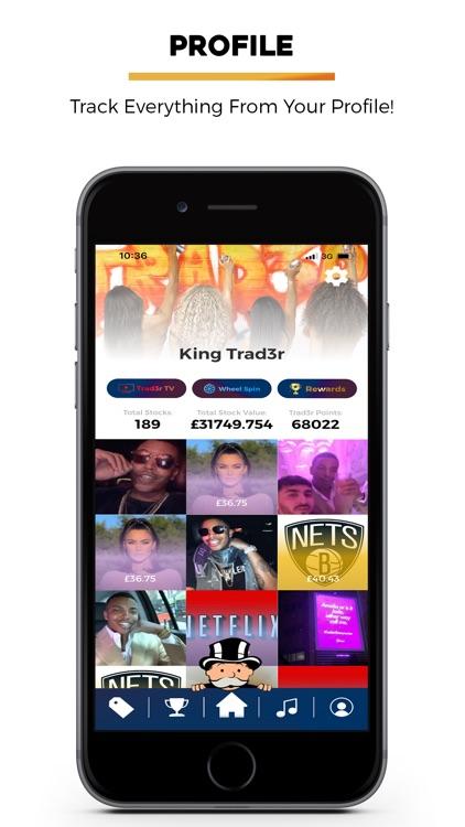 Trad3r - Social Trading Game screenshot-5