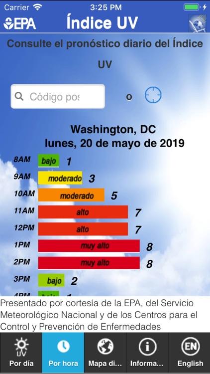 EPA's SunWise UV Index screenshot-3