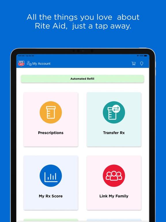 Rite Aid Pharmacy screenshot